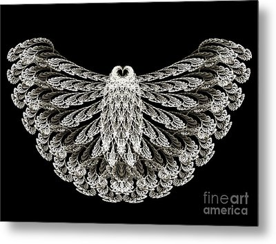 A Wise Old Owl Metal Print by Andee Design