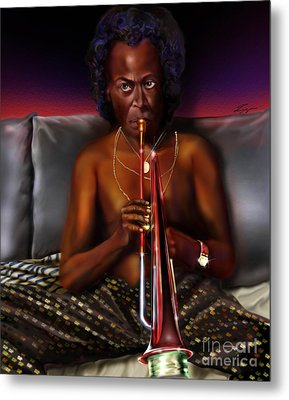 A Zillion Miles From Here Metal Print by Reggie Duffie