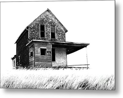 Abandoned And Alone 2 Metal Print by Bob Christopher