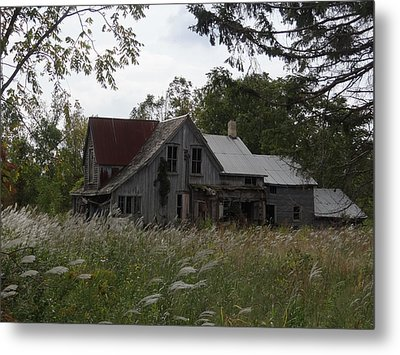Abandoned Farmhouse 1 Metal Print by Bruce Ritchie