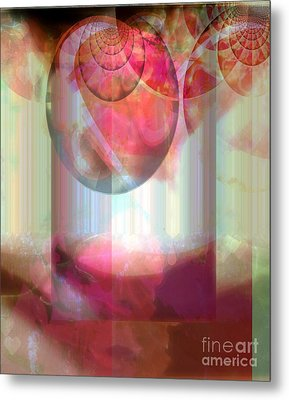 Abandoned Rose - Not Seperate From Illusion Metal Print by Fania Simon