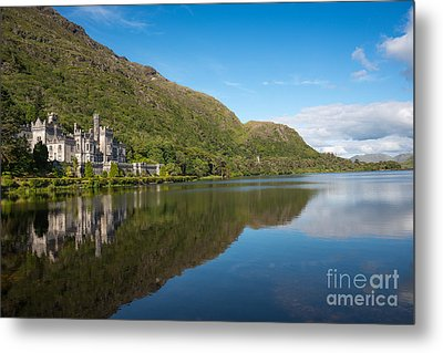 Abbey On The Lake Metal Print by Andrew  Michael