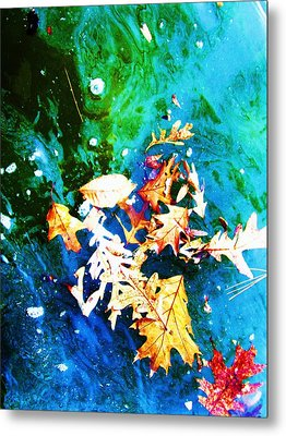 Abstract-11 Metal Print by Todd Sherlock