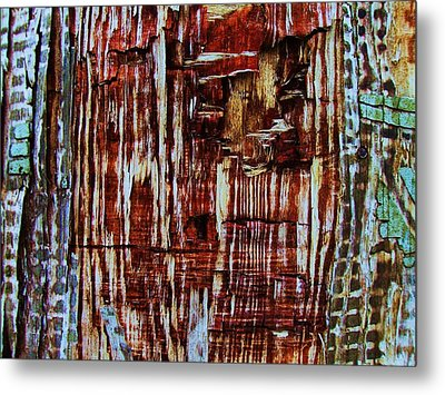 Abstract-23 Metal Print by Todd Sherlock