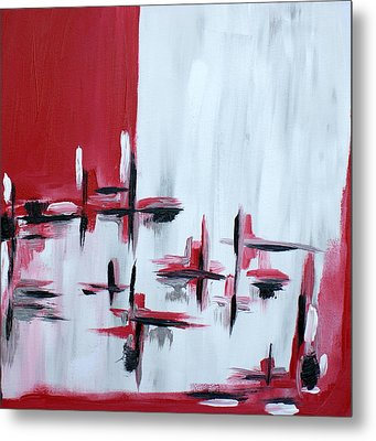 Abstract 27 Metal Print by Sandra Conceicao