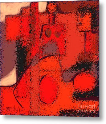 Abstract 463 Metal Print by Nedunseralathan R