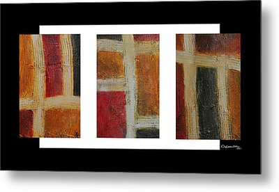 Abstract Collage 1 Metal Print by Xoanxo Cespon