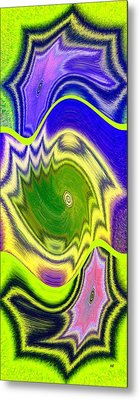 Abstract Fusion 157 Metal Print by Will Borden