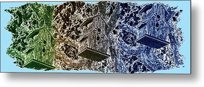 Abstract Fusion 160 Metal Print by Will Borden