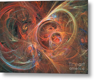 Abstract Galaxy - Abstract Art Metal Print by Abstract art prints by Sipo
