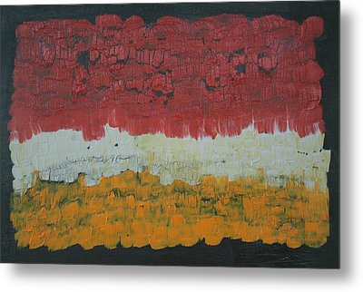 Abstract Number 6 Metal Print by James Johnson