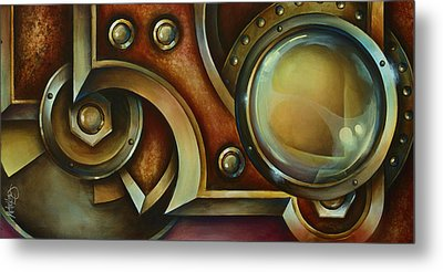 'access Denied' Metal Print by Michael Lang