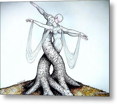 Adagio Of Life Metal Print by Paulo Zerbato