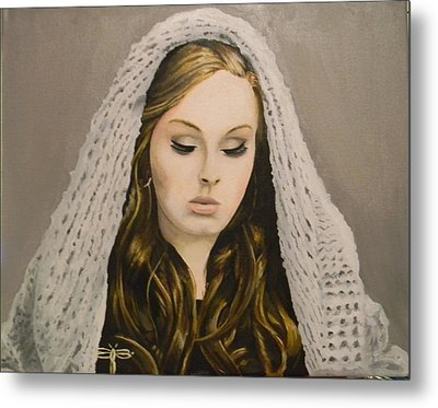 Adele Metal Print by Eric Barich