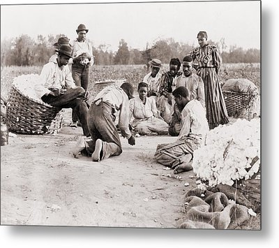 African Americans Enjoying Some Rest Metal Print by Everett