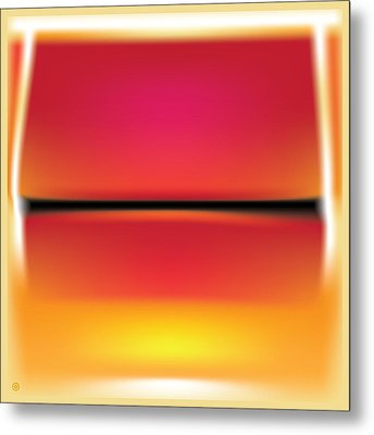 After Rothko Metal Print by Gary Grayson