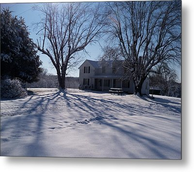 After Snow  Metal Print by Maria Blumberg