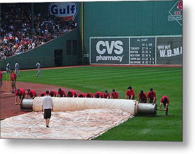 After The Rain Delay Metal Print by Mike Martin