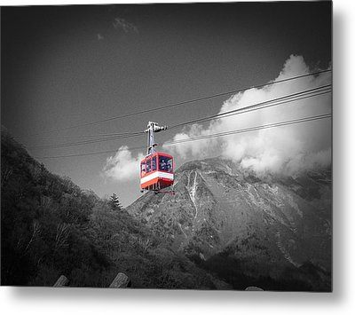 Air Trolley Metal Print by Naxart Studio