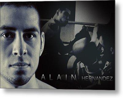 Alain Hernandez Mixed Martial Artist Metal Print by Lisa Knechtel