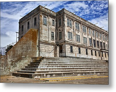 Alcatraz Cellhouse  Metal Print by Garry Gay