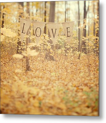 All Is Love Metal Print by Irene Suchocki