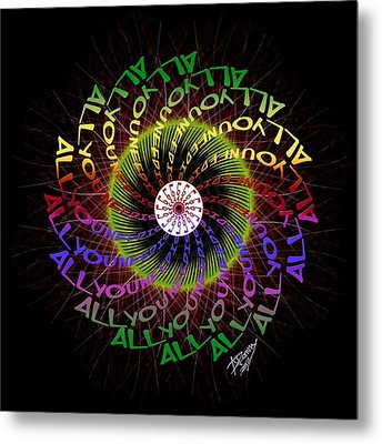 All You Need Is Love 3 Metal Print by Atheena Romney