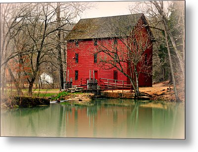 Alley Mill 4 Metal Print by Marty Koch