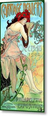 Alphonse Expo Metal Print by Lyle Brown