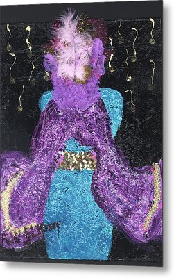 Althea Survives Metal Print by Annette McElhiney