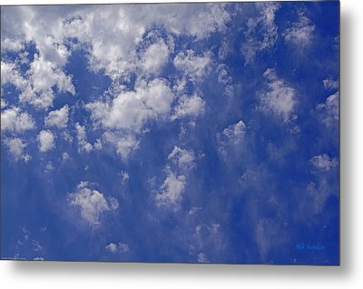 Alto Cumulus With Ice Metal Print by Mick Anderson