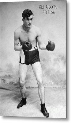 American Boxer, C1912 Metal Print by Granger