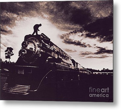 American Freedom Train Metal Print by Jim Wright