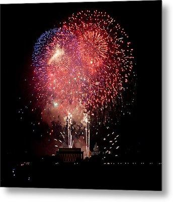America's Celebration Metal Print by David Hahn