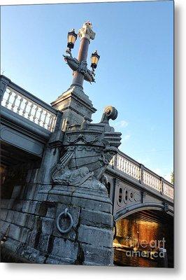 Amsterdam Bridge Detail Metal Print by Gregory Dyer