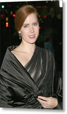 Amy Adams At Arrivals For The 2008 Metal Print by Everett