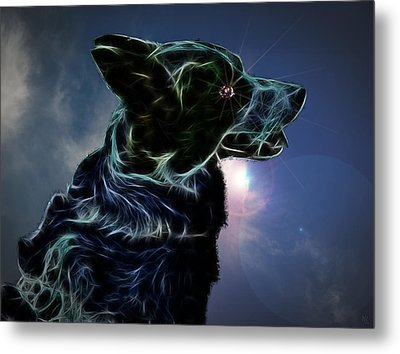 Amy Metal Print by Nafets Nuarb