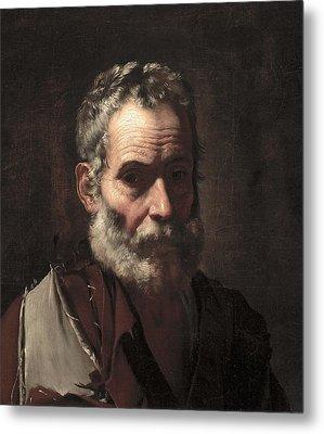 An Old Man Metal Print by Jusepe de Ribera