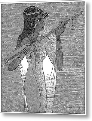 Ancient Egypt: Music Metal Print by Granger