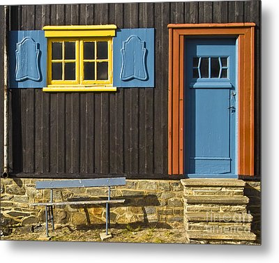 Ancient Frontage Metal Print by Heiko Koehrer-Wagner