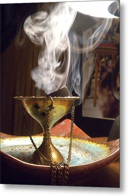 Ancient Scents Metal Print by Crespo