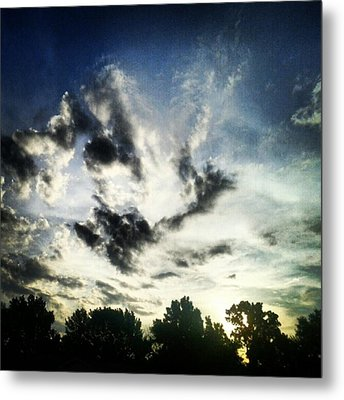#andrography #nexuss #clouds #sky Metal Print by Kel Hill