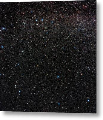 Andromeda Constellation Metal Print by Eckhard Slawik