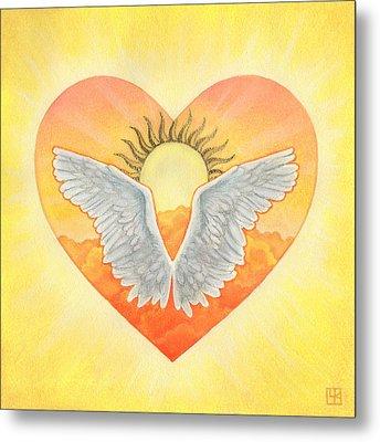 Angel Metal Print by Lisa Kretchman