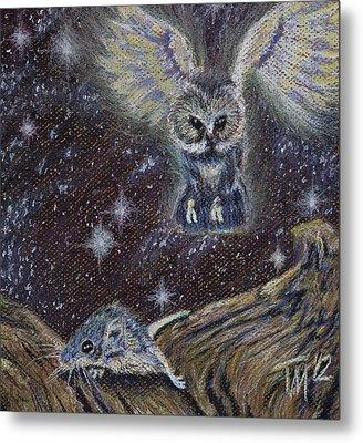 Angel Of Death Metal Print by Thomas Maynard