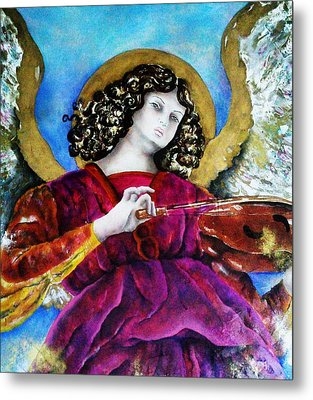 Angelic Metal Print by Unique Consignment
