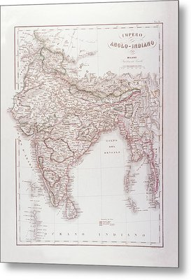 Anglo-indian Empire Metal Print by Fototeca Storica Nazionale