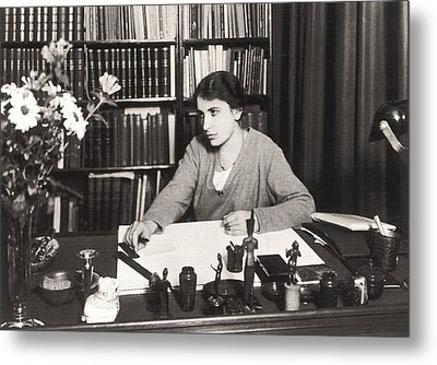 Anna Freud 1895-1982, Youngest Daughter Metal Print by Everett