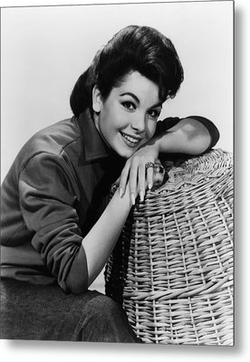 Annette Funicello, Ca. Early 1960s Metal Print by Everett