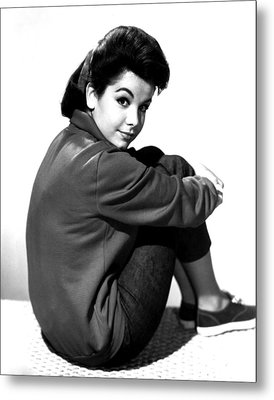 Annette Funicello, Portrait Metal Print by Everett